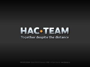 Logotyp HAC • TEAM.