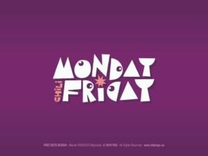 Logo zespołu muzycznego MONDAY CHILI FRIDAY.