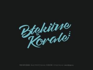 Znak firmowy dla Młodzieżowego Zespołu Folkowego BŁĘKITNE KORALE.